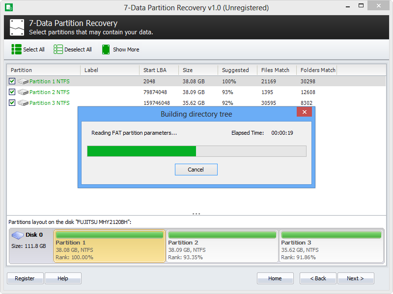 7-Data Partition Recovery 1.8